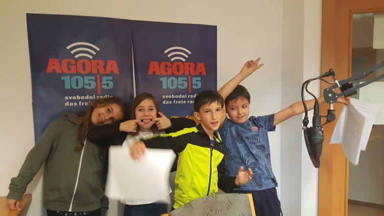 Šolska soba I Das Schülerinnen- und Schülerradio auf AGORA