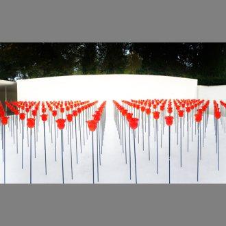 """Renate Bertlmann: """"Discordio ergo sum"""" – Installation im Österreichischen Pavillon"""