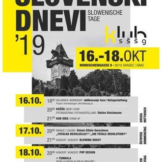 Bild zu:Slovenski dnevi I Slowenische Tage 2019