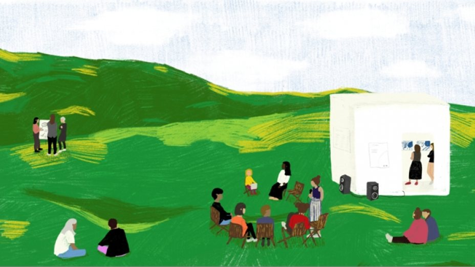Kulturelle Nahversorgung auf dem Land und in der Stadt