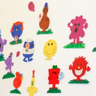 Bild zu:Ein Besuch im Kindergarten / Obisk v otroškem vrtcu