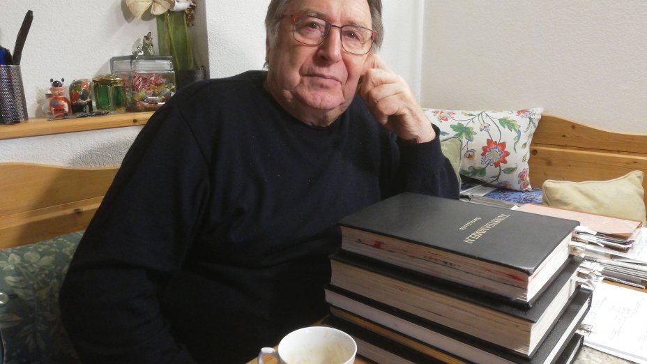 VERGANGEN NICHT - VERWANDELT IST - WAS WAR.. Zum 80. Geburtstag von Gerold Sternig