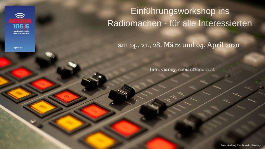 Einführungsworkshop ins Radiomachen für alle Interessierten