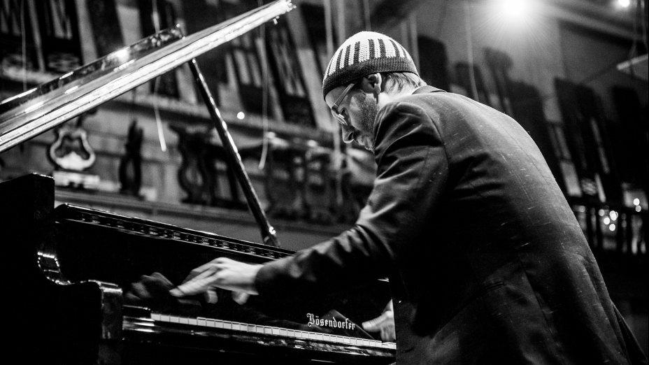 Jazz pianist David Helbock