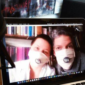 Im Heimstudio: Skype-Interview mit VADA
