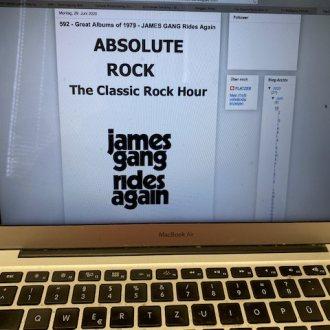Bild zu:Nr. 592 – Great Albums of 1970:            JAMES GANG – Rides Again