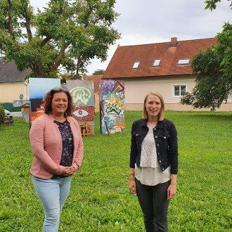 Bild zu:Cornelia Schweiner & Julia Majcan zu Gast in Downtown Bad Radkersburg