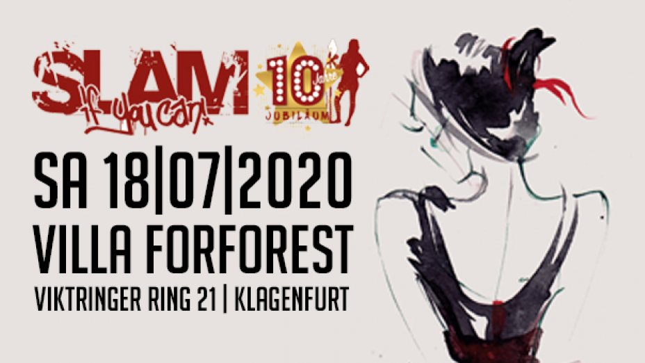 """10 Jahre """"Slam if you can!"""""""