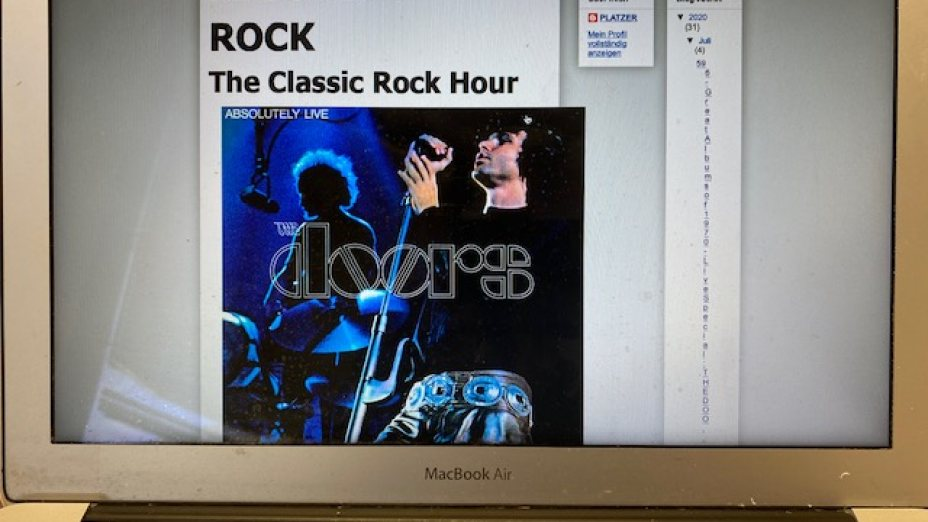596 - Great Album of 1970 - Live Special: THE DOORS - Absolutely Live