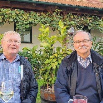 Günter Köck und Miguel Clüsener-Godt