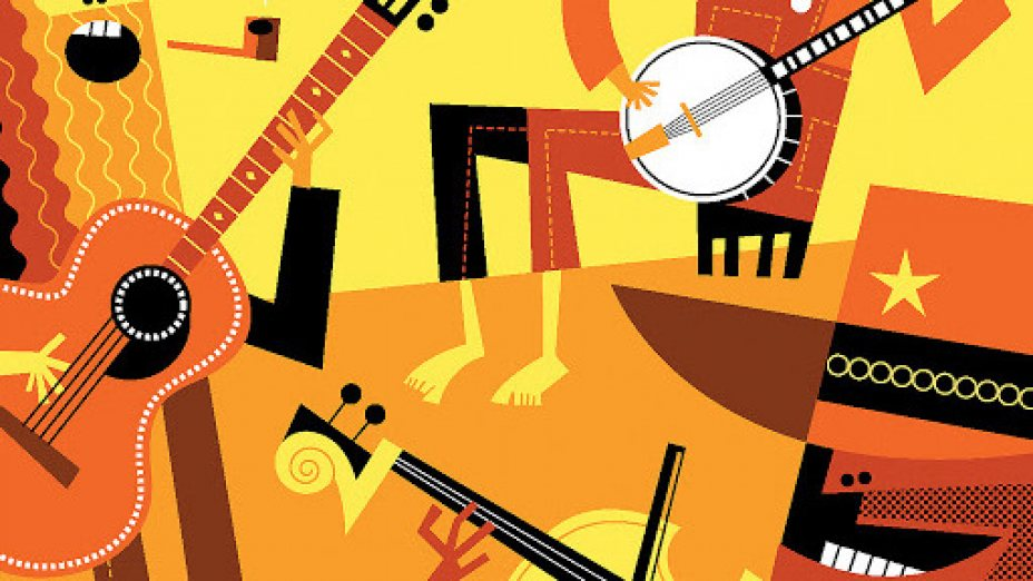Zeit für American Folk Music