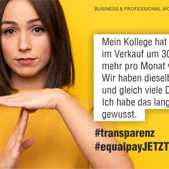 Bild zu:Equal Pay Day
