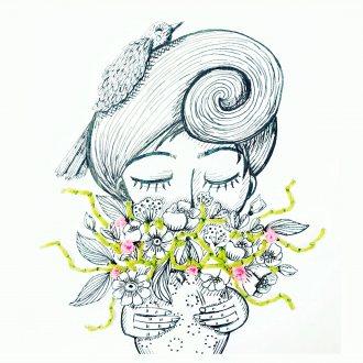 """""""Imbolc Energy"""" Zeichnung von Simone Dueller"""