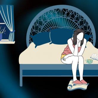 Bild zu:Motnje spanja I  Schlafstörungen