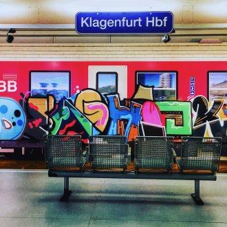 Bild zu:UMLACKIERT – Graffiti-Kunst in Kärnten