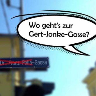 VADA: Wo geht's zur Gert-Jonke-Gasse?