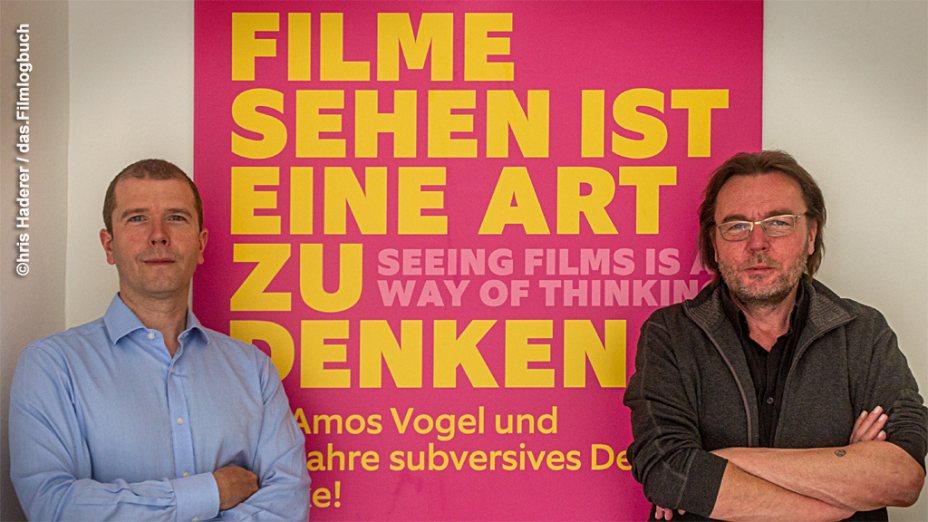 Sonderschau: Amos Vogel – 100 Jahre Subversion im Öst. Filmmuseum   Michael Loebenstein   Chris Haderer