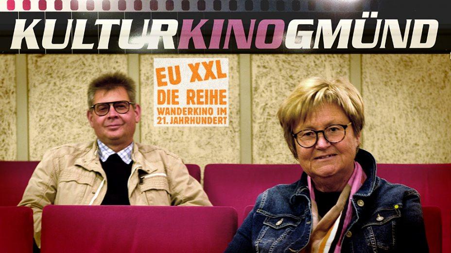 Johannes Krämmer & Erika Schuster im EU XXL-KulturKino Gmünd  Foto: Klaus Pertl