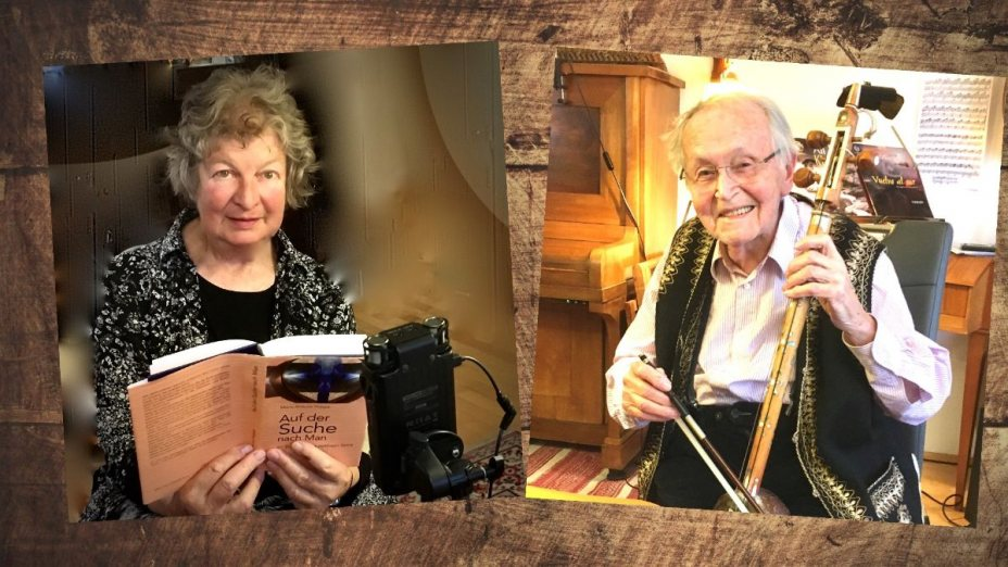 Maria Alraune Hoppe und Edgar Hättich