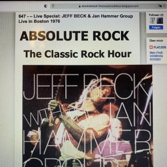 Bild zu:Nr. 647 – Live Special: JEFF BECK & Jan Hammer Group Live in Boston 1976