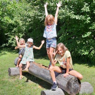 Bild zu:Sport und Sprache im Sommercamp / Teden športa in jezika v Šentjanžu v Rožu