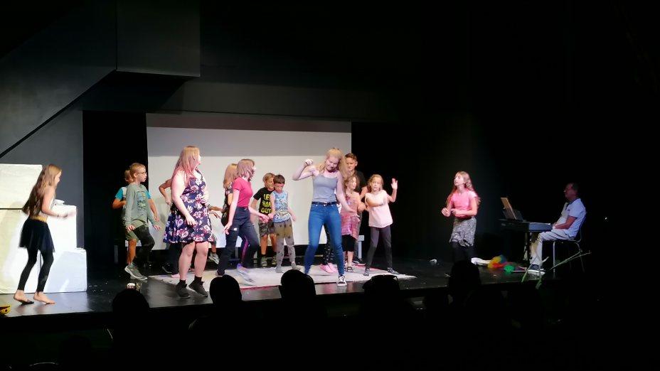 Jugendtheater Produktion I mladinsko gledališče KI Kürbis