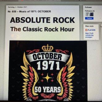 Bild zu:Nr. 658 – Music of 1971: OCTOBER