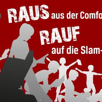 Bild zu:Raus aus der Comfort-Zone - Rauf auf die Slam-Bühne!
