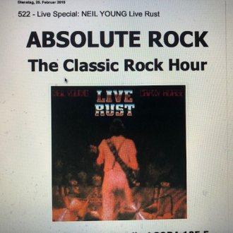 Bild zu:Nr. 522 – Live Special: NEIL YOUNG – Live Rust