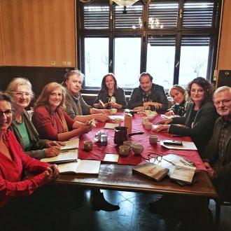 Kärntner SchriftstellerInnen zu Gast beim Slowenischen PEN-Club in Ljubljana Koroške pisateljice in pisatelji kot gostje pri slovenskem PEN-klubu v Ljubljani