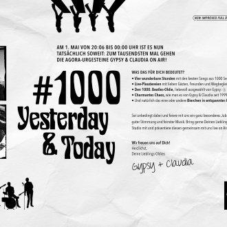 Bild zu:Die 1000. Sendung von Yesterday & Today!
