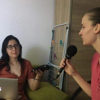 Bild zu:Anesa Benkovič im Gespräch I v pogovoru